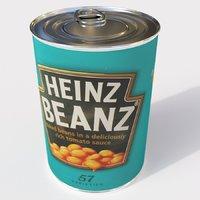 3D beans model
