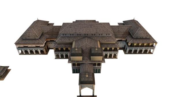 maimoon palace maimun istana 3D