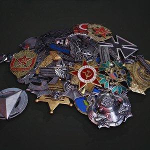 3D badges pbr model
