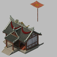 city - building armor model