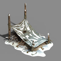 fabric shed - chai 3D model