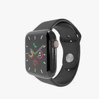 Apple Watch Series 5 Space Gray Aluminum Case with Sport Band