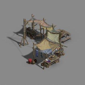 prairie - stalls 02 model