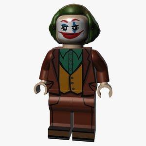 3D lego joker