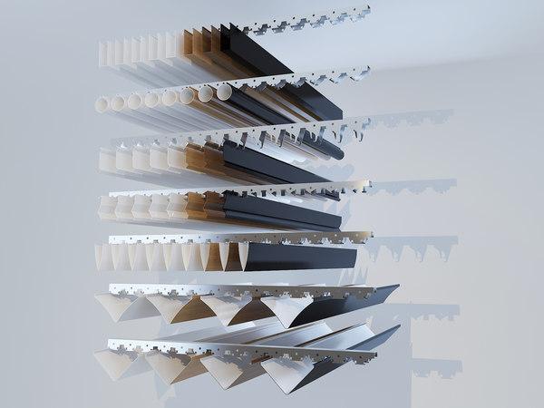 metal ceiling model