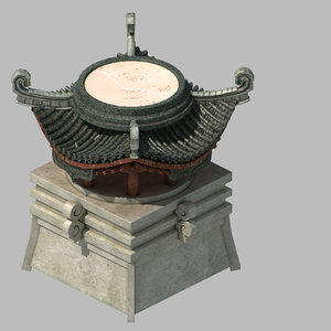 city - architecture tower 3D model
