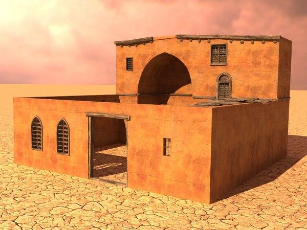 arabian house 3D model