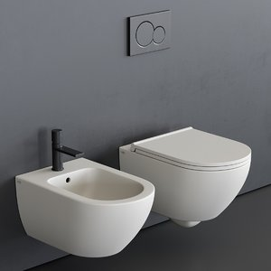 toilet enjoy wall-hung 3D