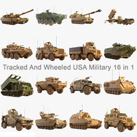 US Military Army Collection 16 in 1