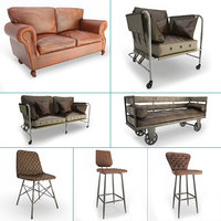 Vintage Furniture Set 02