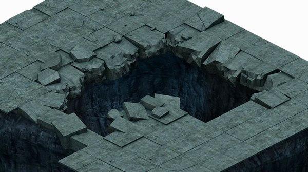 underground - palace ground 3D model