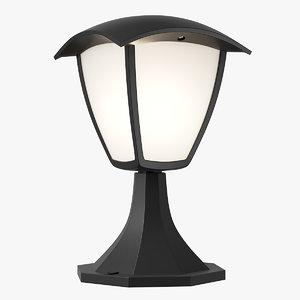 375970 lampione lightstar led 3D model