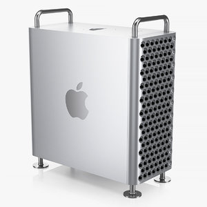 3D apple mac pro 2019