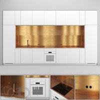 3D kitchen nel miele