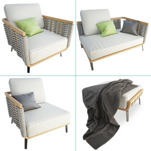 3D set braided furniture welcome