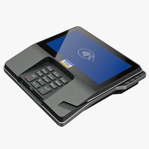 3D payment card terminal