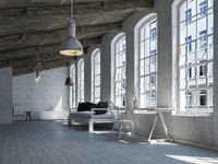 Loft interior Scene 3