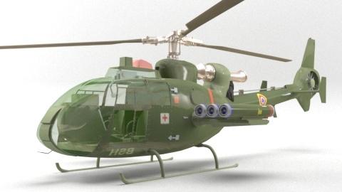 3D model hilocopter