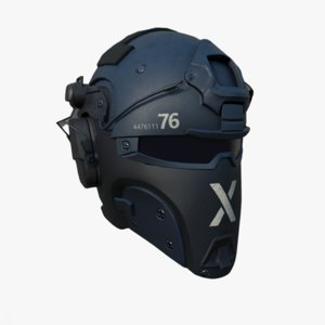 head safety 3D model