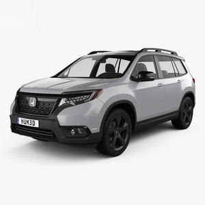 3D honda passport elite