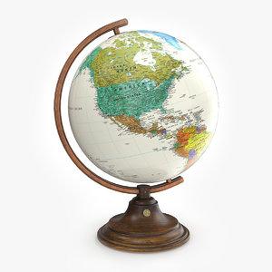 3D globe classic