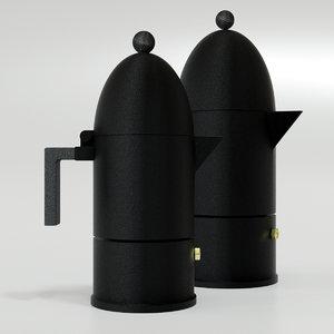 cupola coffee maker 3D model
