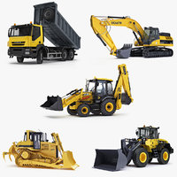 Collection of Construction Equipment v4