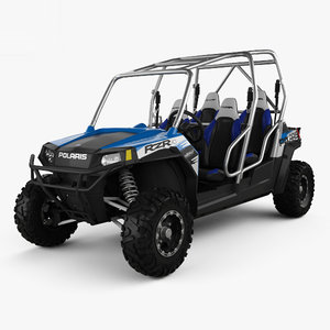 polaris rzr 4 3D model