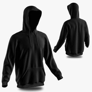 hoodie model
