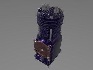 3D compressor model
