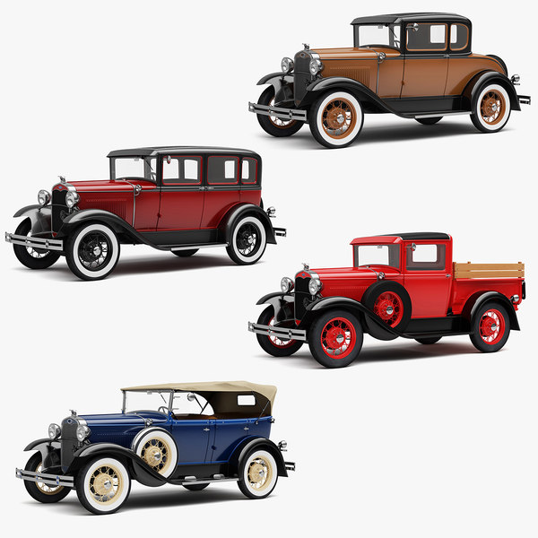 pickup coupe 3D model