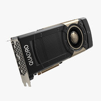 graphic video card nvidia 3D model