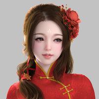 body character 3D model
