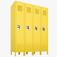 school lockers lock model