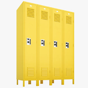 school lockers lock model