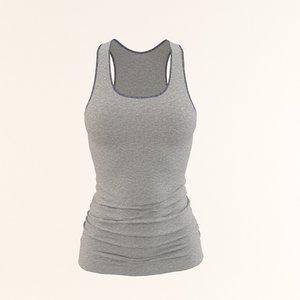 woman shirt model