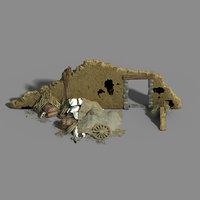 monster camp - broken 3D model