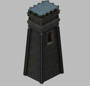 3D dungeon - square stone