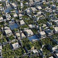 futuristic city 3 3D model