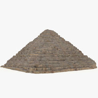 pyramid hetepheres 3D model