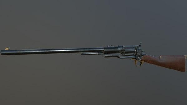 3D spectacular colt revolving carbine