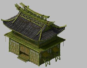 building - wo hill model