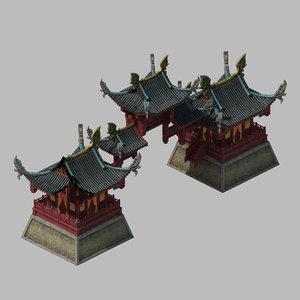 3D model brothel - arch 2701