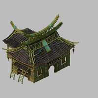 3D model architecture - shan road