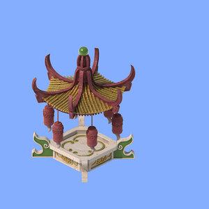 3D architecture - gazebo 1127