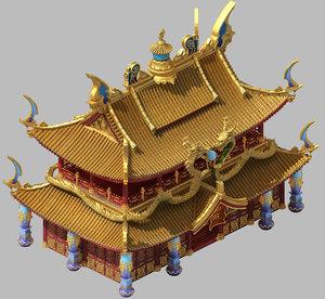 3D architecture - royal palace