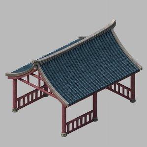 3D building - gazebo 2709