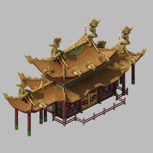 architecture - royal palace 3D