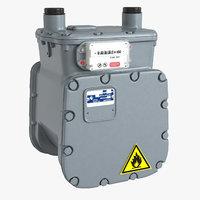 American Diaphragm Gas Meter AC250