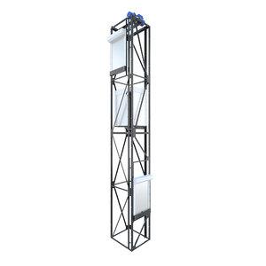 elevator compass corona 3D model